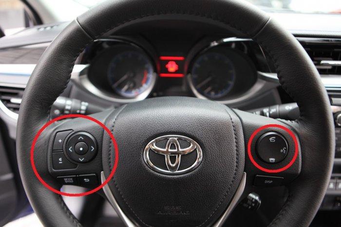 2015 Corolla Steering Wheel Radio Controls Not Working
