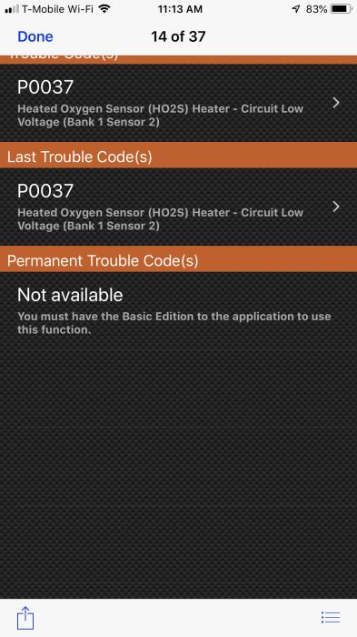 Oxygen sensor2 | Toyota Corolla Forum